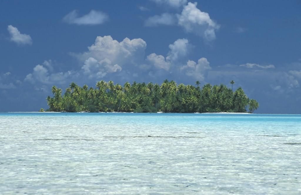 Photo atoll